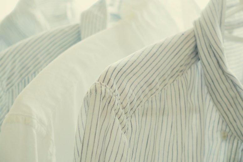 黄ばみ クリーニング ケア メンテナンス ワードローブ お手入れ シャツ ジャケット ダウン コート ファッション